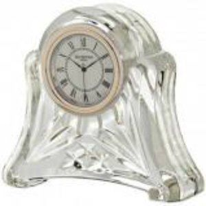 Waterford Crystal Time Pieces Abbey Desk Clock